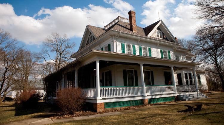 Funk Prairie Homestead in Shirley, Illinois