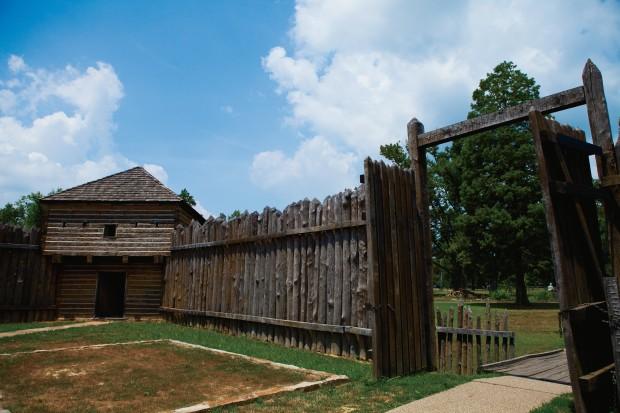 Fort Massac State Park in Metropolis, Illinois