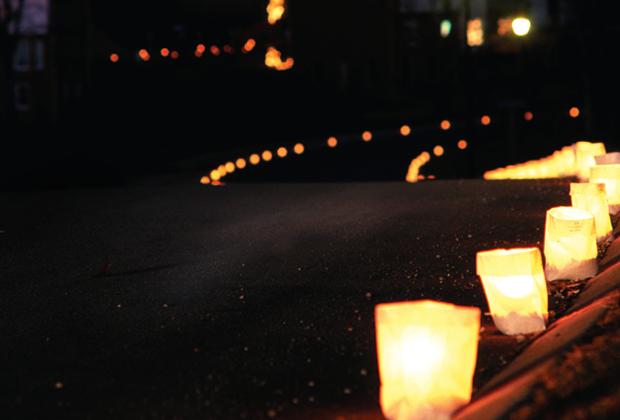 Glow of the Season in Galena