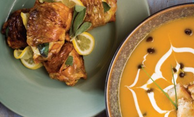 Roasted Chicken and Butternut Squash Soup Recipes