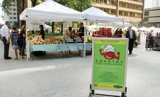 Chicago, Illinois Farmers Market