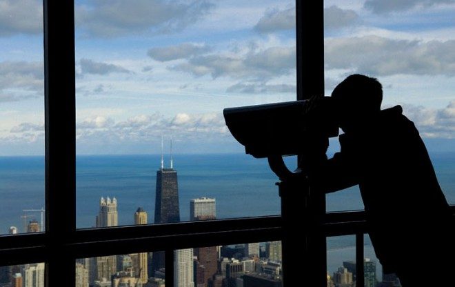 """Check out the view from the 103rd floor Willis Tower Skydeck  – you'll never feel more on top of the world. Voted one of the """"7 Wonders of Chicago"""" by Chicago Tribune readers, the Willis Tower Skydeck offers the best view of the city from the tallest building in the Western Hemisphere."""