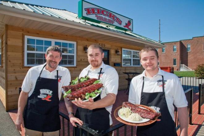 Hicks Bar-B-Que in Belleville