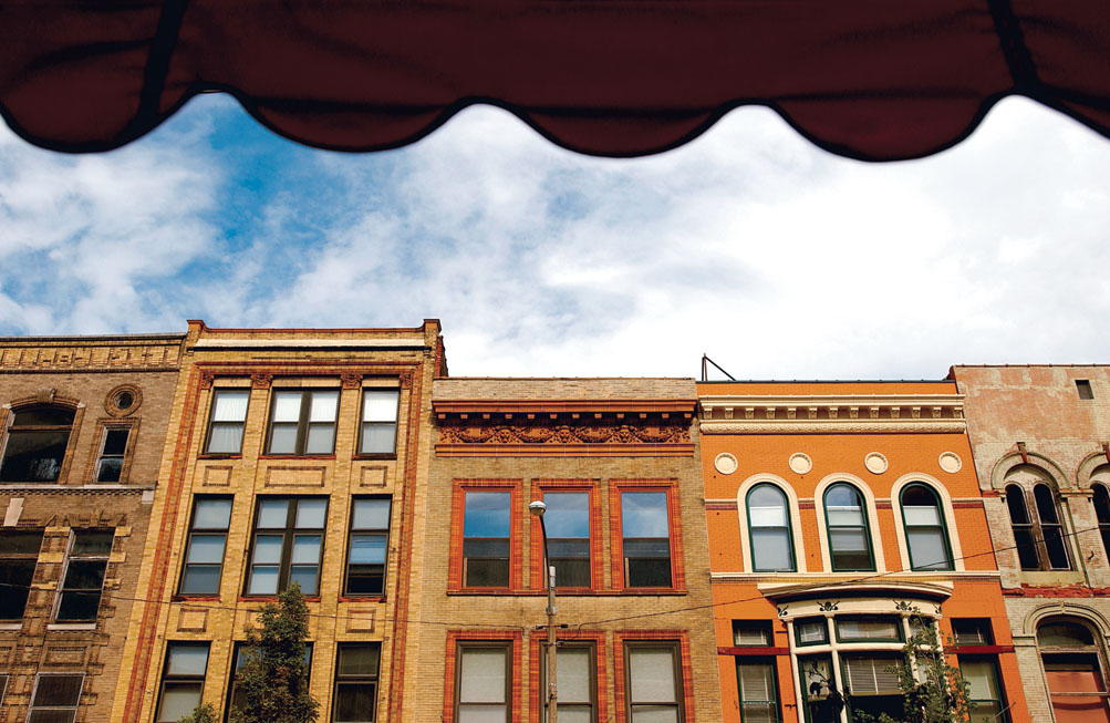 In the mid-1900s, talk of tearing down historic buildings in downtown Bloomington gave way to efforts to preserve and use them.
