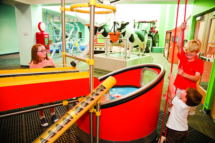 Design your own robot or hit the ski slopes on a virtual snowboard at the Discovery Center Museum in Rockford, Illinois, ranked one of the top 10 children's museums in the nation.