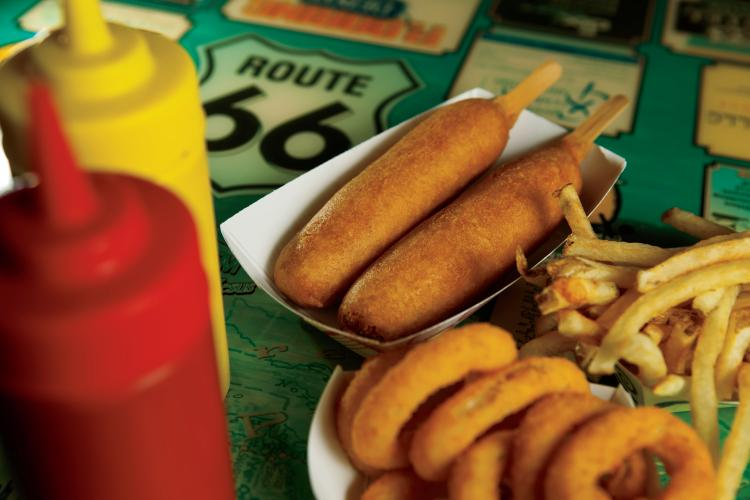 Cozy Dog Drive In In Springfield Invented Corn Dogs On A Stick