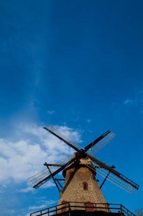 The Fabyan Dutch Windmill in Geneva Il