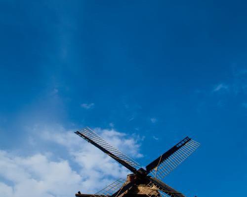 The Fabyan Dutch Windmill in Geneva Il