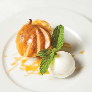 Caramelized Pear Tarts