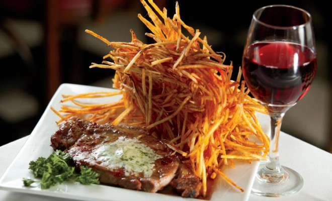 Fritz and Frites, Galena, French cuisine, German cuisine, Downtown Galena
