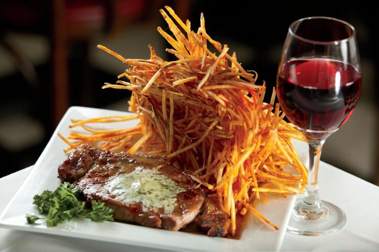 Fritz and frites galena restaurant blends french and for A french cuisine
