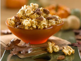 Maple Pumpkin Spice Popcorn Recipe