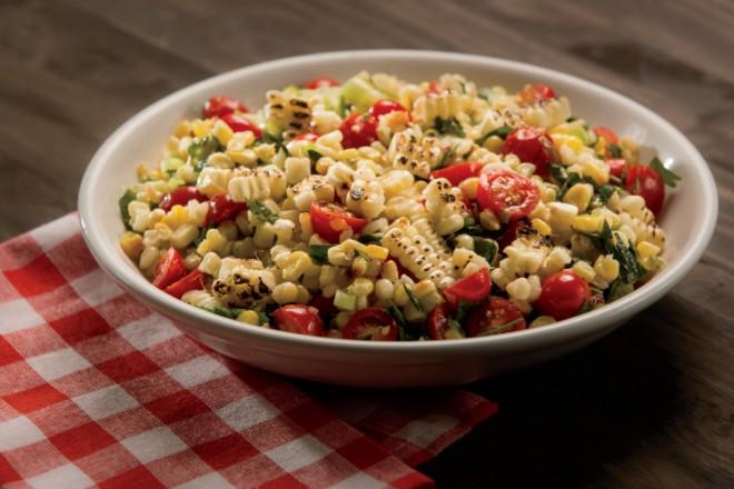 BBQ Corn Salad