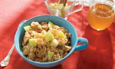 Apple, Golden Apple, Oatmeal, Fall, Breakfast, Recipe