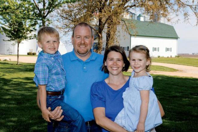 Andy Pratt and Family Grain Storage