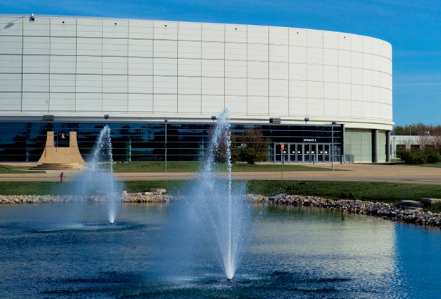 Convocation Center on Northern Illinois University Campus in Dekalb County