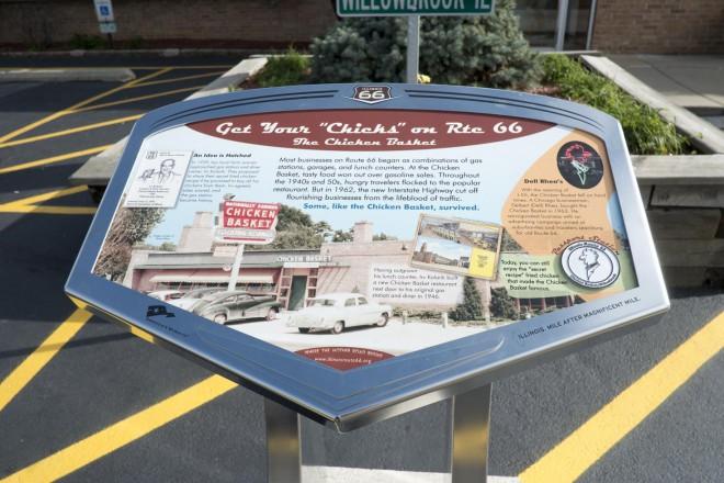 Route 66 Chicken Basket