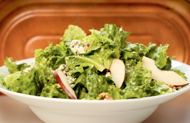 Eclectic Salad with Maple Ginger Walnuts