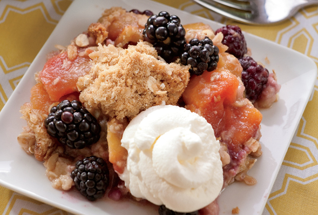 Blackberry Peach Crisp Recipe
