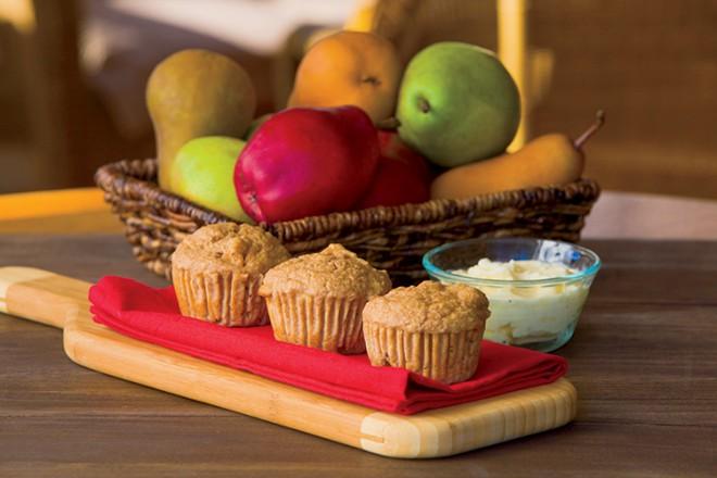 Pear Bran Muffins