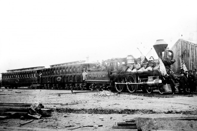 Photo courtesy of the Lincoln Funeral Train Project