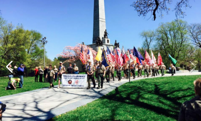 Boy Scout Lincoln Pilgrimage Hike