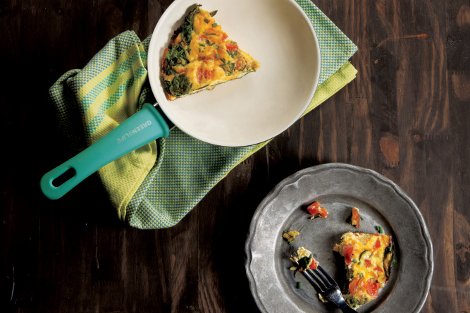 Herb and Veggie Frittata