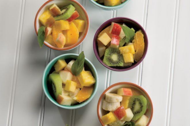 Pineapple Sage Fruit Salad
