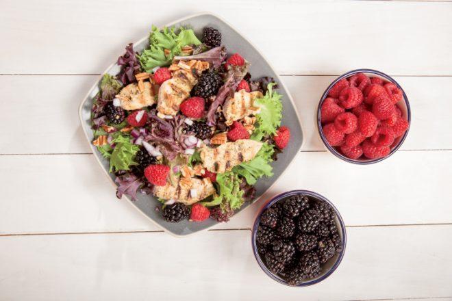 Cinnamon Berry Salad