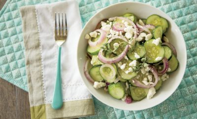 Cucumber Salad with Feta and Dill