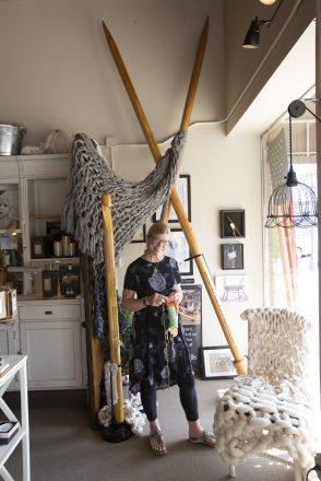 Casey, Illinois - World's Largest Crochet Hook and Knitting Needles