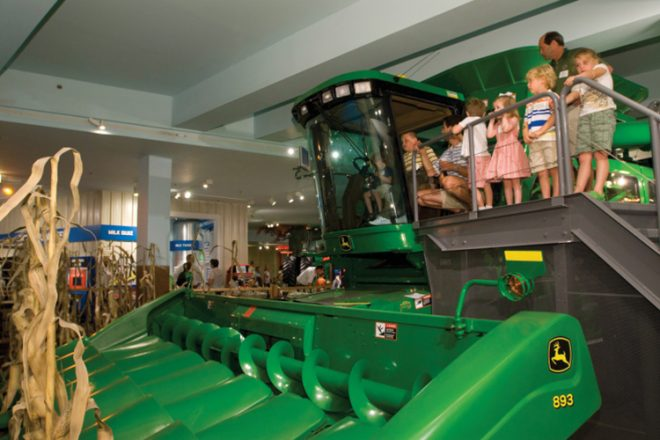 Farm Tech Exhibit at the Museum of Science & Industry in Chicago