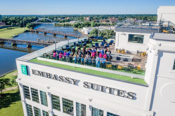 visit Rockford Illinois; Embassy Suites Rockford
