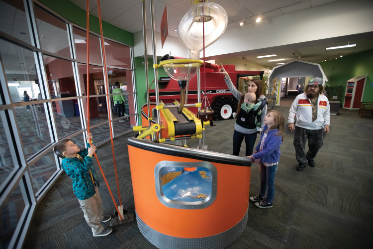 Discovery Center in Rockford.